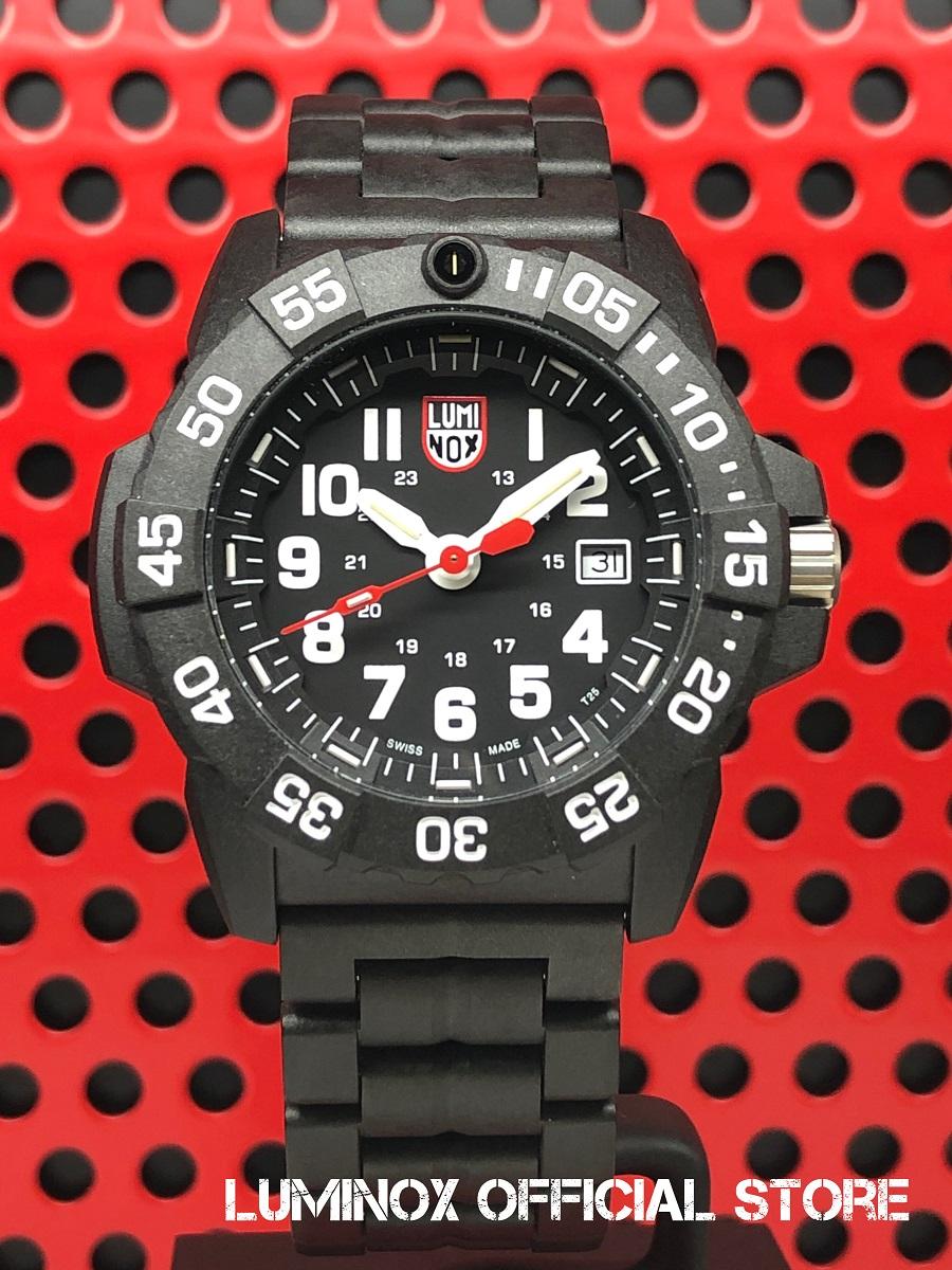 Luminox直営店 NAVY SEAL 3500 SERIES Ref.3502[3500シリーズ/ルミノックス/ネイビーシールズ/ミルスペック/米海軍/特殊部隊/ミリタリーウォッチ/ダイバーズ/タフ/防水/軽量/発光/日本正規保証]