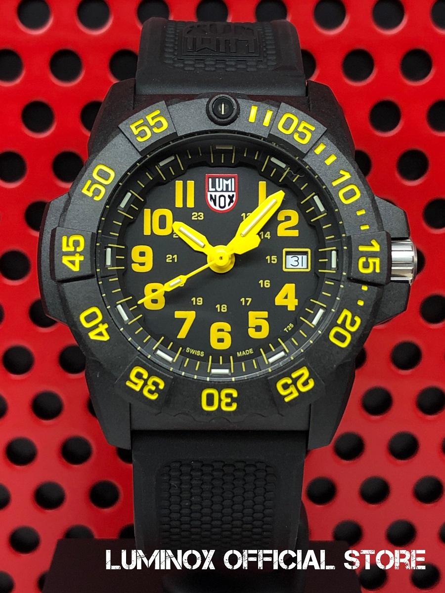 Luminox直営店 NAVY SEAL 3500 SERIES Ref.3505[3500シリーズ/ルミノックス/ネイビーシールズ/ミルスペック/米海軍/特殊部隊/ミリタリーウォッチ/ダイバーズ/タフ/防水/軽量/発光/日本正規保証]