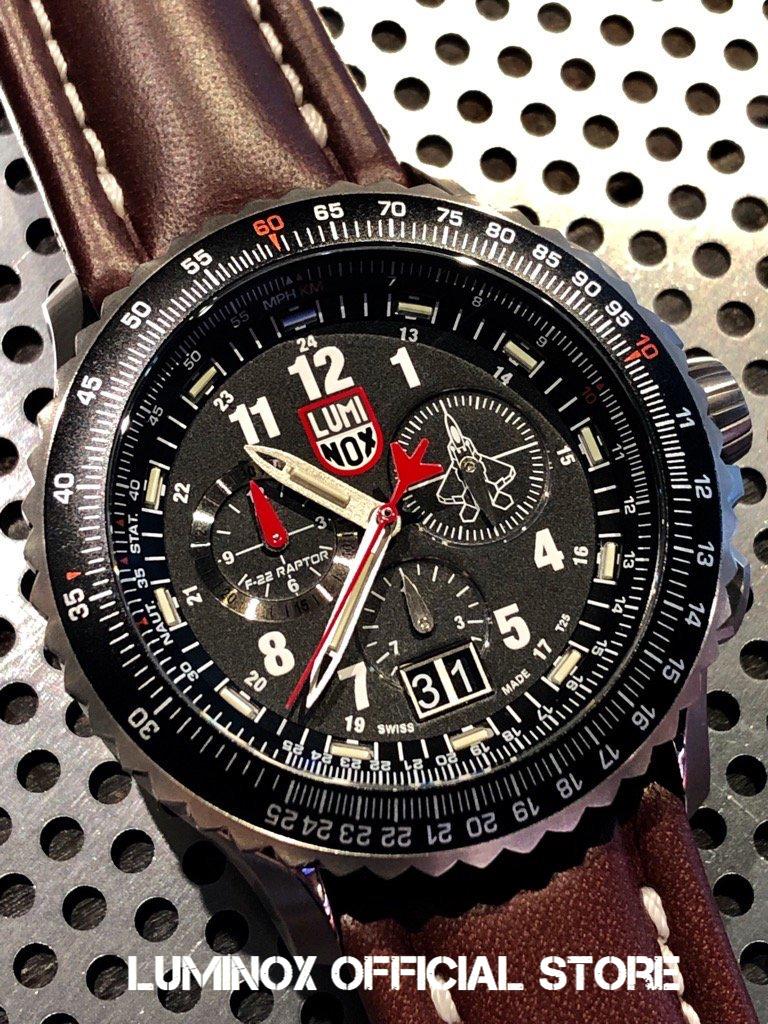 Luminox直営店 F-22 RAPTOR™ 9240 SERIES Ref.9247[ルミノックス/F-22/ラプター/チタン/ロッキードマーティン/パイロットウォッチ/ミリタリーウォッチ/防水/軽量/発光/日本正規保証]