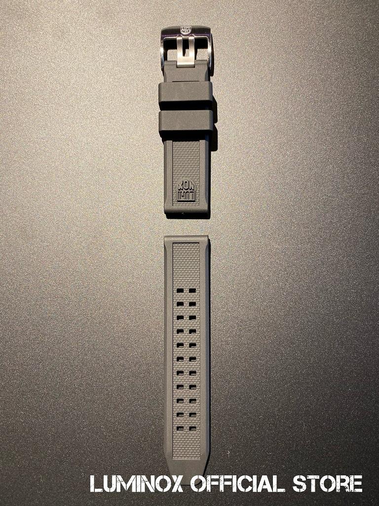 Luminox直営店 Strap Rubber-07(S) [ルミノックス/ストラップ/ラバー/ベルト/20mm専用]