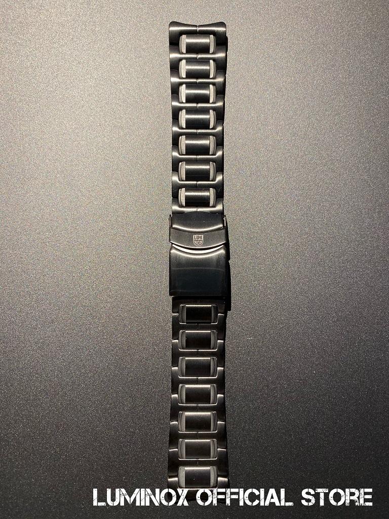 Luminox直営店 Strap Steel-17[ルミノックス/ストラップ/6400シリーズ専用/23mm/ステンレススティール/F-117/ナイトホーク/GMT/ロッキードマーティン/パイロットウォッチ/ミリタリーウォッチ/防水/発光/日本正規保証]