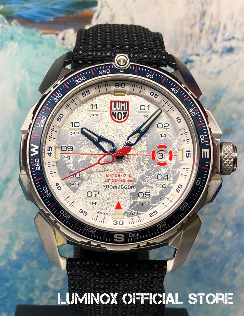 Luminox直営店 ICE-SAR ARCTIC 1200 SERIES Ref.1208[1200シリーズ/アイスサー/アイスランド/レスキュー/山岳救助隊/ルミノックス/ミリタリーウォッチ/防水/発光/日本正規保証]