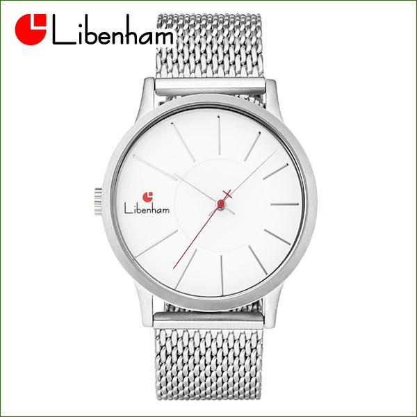 Libenham公式 LH90036-04(Snow-White) [リベンハム新ラントシャフトシリーズ/Fielder掲載/腕時計/白/ホワイト]