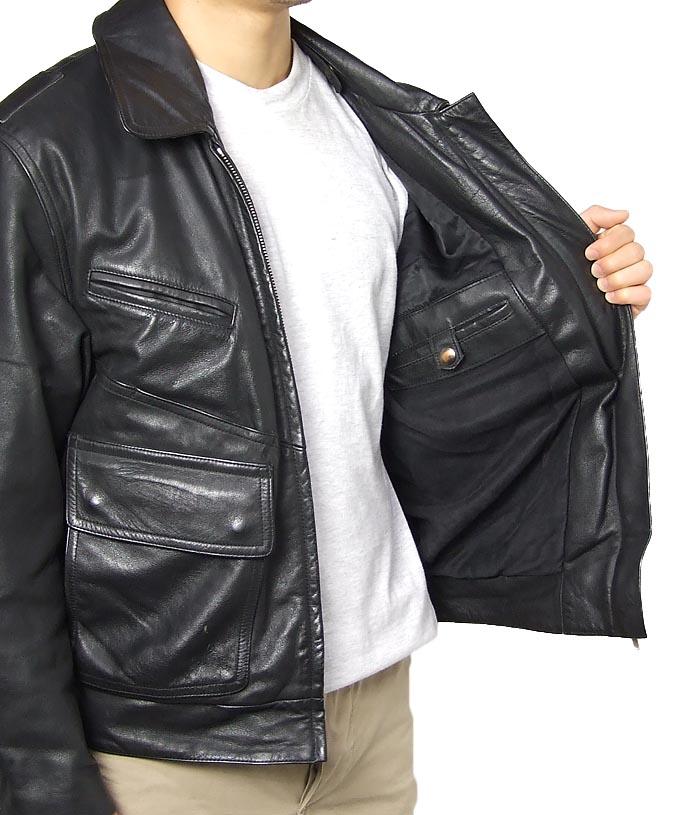 德国警方皮革夹克 (用骑自行车的人的类型)。