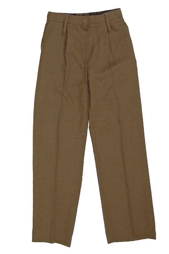 イギリス 現品 レディース 海外限定 カーキ バラック 新品 ドレスパンツ 206N-LDY=