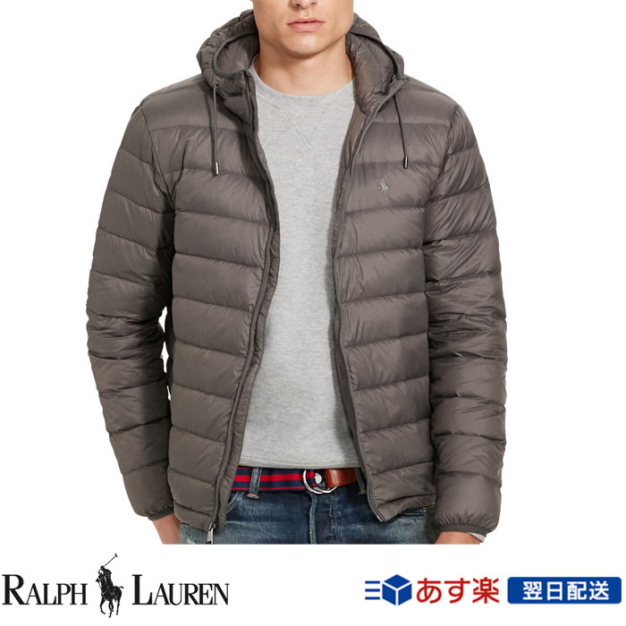POLO RALPH LAUREN MENS NEW RED BOMBER PACKABLE DOWN FILL COAT JACKET ALL SIZES
