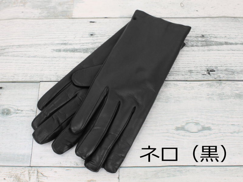 baf218db8163b Made in Italy ladies and nappa leather gloves cashmere lining  s basic   GUA022 ○ ○