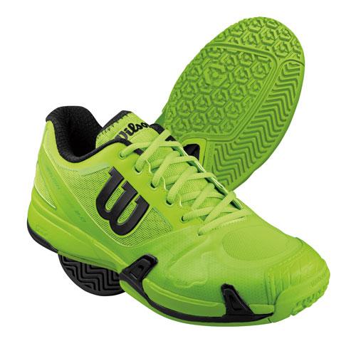 【送料無料】【25.0cmのみ】Wilson(ウイルソン) RUSH PRO 2.0テニスシューズオムニ・クレーコート用メンズグリーン×グリーンWRS321570-250【16☆】●●