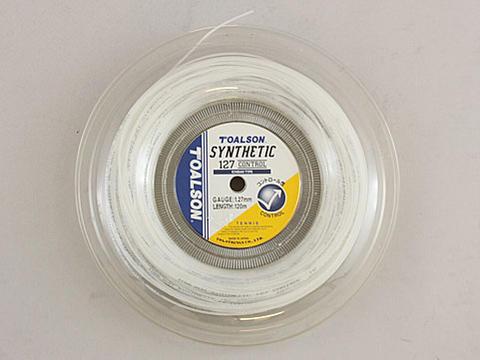 【送料無料】TOALSON(トアルソン)SYNTHETIC(シンセティック) 125(スーパーレイザー) ホワイト ロール(240m)7402512W【定番】●●