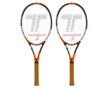 【10000円均一】【廃番】TOALSON(トアルソン)テニスラケット 2本セットBREAK PRO上級者・プロ級モデルフレームのみグリップサイズ21DR80102-2SET【16★ヤフ2】●●
