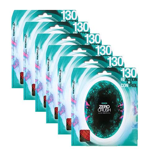 【T-ポイント5倍】 【9000円均一】【廃番 130 追】TOALSON(トアルソン)RENCON(レンコン) ZERO CRUSH(ゼロクラッシュ) 130 ZERO ガット硬式テニス ガット6セット入りレッド7353020R-6SET【定番】●●, 柳川つるし飾り雛 さげもん美草:1b0bb03c --- canoncity.azurewebsites.net