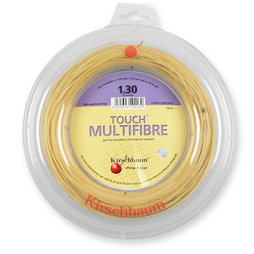 【送料無料】Kirschbaum(キルシュバウム)タッチ・マルチファイバー(Touch Multi-Fibre)ロール1.25mm102130【定番】●●