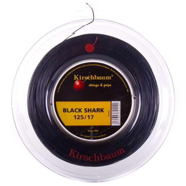 【送料無料】Kirschbaum(キルシュバウム)ブラック・シャークBLACK SHARKガット・ストリングロールブラック301144【定番】●●