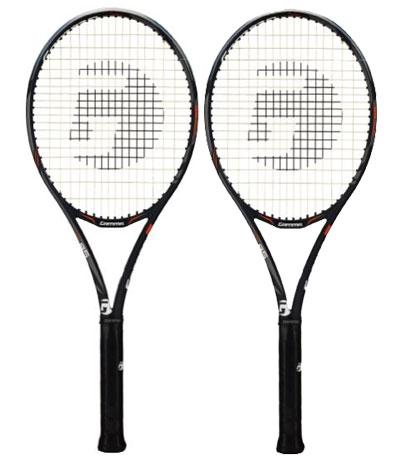 【12000円均一】TOALSON(トアルソン)GAMMA RZR95テニスラケット 2本セットオールラウンドモデルフレームのみグリップサイズ31DR79553-2SET【18★】●●
