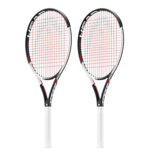 【2本セット】【グリップ2のみ】HEAD (ヘッド)GRAPHENE TOUCH SPEED LITE硬式テニスラケットフレームのみ231847-G2-2SET【19★】