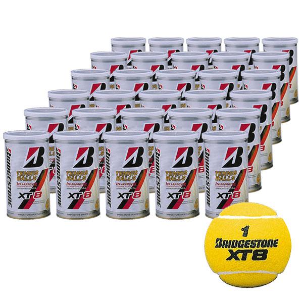 【送料無料】【2個入り30缶】BRIDGESTONE(ブリヂストン)ボールバック付き XT8(エックスティエイト)テニスボールBBPXTA【15☆】●●
