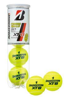 【送料無料】【4個入り15缶を2ケース】BRIDGESTONE(ブリヂストン)XT8(エックスティエイト)テニスボールBBA4XT【定番】