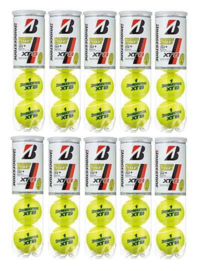 【11000円均一】【4個入り10缶】BRIDGESTONE(ブリヂストン)XT8(エックスティエイト)テニスボール BBA4XT【定番】