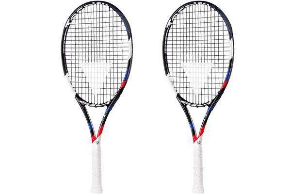 【送料無料】BRIDGESTONE(ブリヂストン)キッズ・ジュニアTecnifibre(テクニファイバー)T-FIGHT24テニスラケット 2本セット24インチBRTF99-2SET【16★】●●