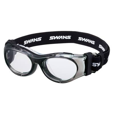 【送料無料】SWANS(スワンズ)キッズ・ジュニアオーダーメイド スポーツ用メガネ度付きレンズセットクリアスモークSVS700N-CLSM【定番】●●