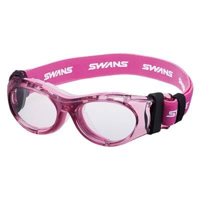 【送料無料】SWANS(スワンズ)オーダーメイド スポーツ用メガネ度付きレンズセットクリアピンクSVS600N-CLPK【定番】●●