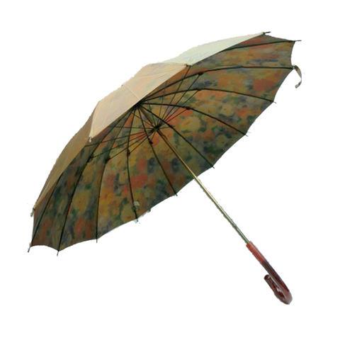 【日本製】【送料無料】レディース・ウィメンズ玉虫裏花柄転写プリント14本骨55cm 手開き傘ベージュ200233-120-12-BE【17☆】【雨傘】【婦人傘】