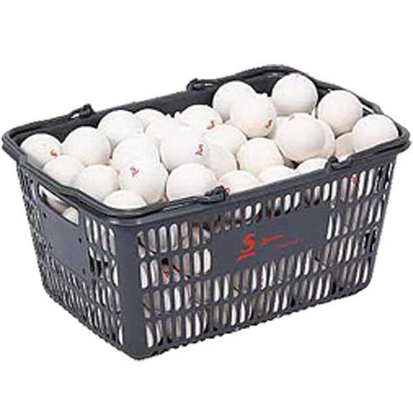 【送料無料】ダンロップ(DUNLOP)スリクソン(SRIXON)ソフトテニスボール(公認球)10ダースボールバスケット付STB2CS120【14☆】●●