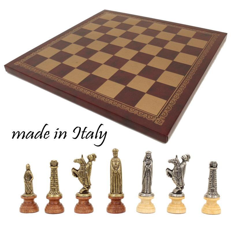 イタリア製チェスメン&チェスボードlotario 176mw201gr【$】