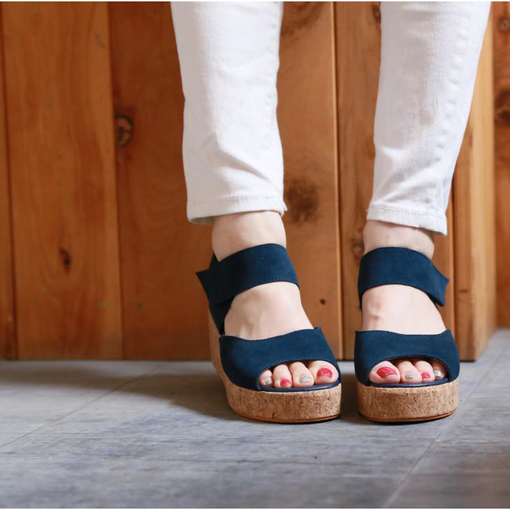 本革 サンダル レディース 歩きやすい 厚底 ウェッジソール 旅行 ウェッジ 靴 【lgss-ae0525】サンダル 【即納:2-5日】 宅別【バーゲン】
