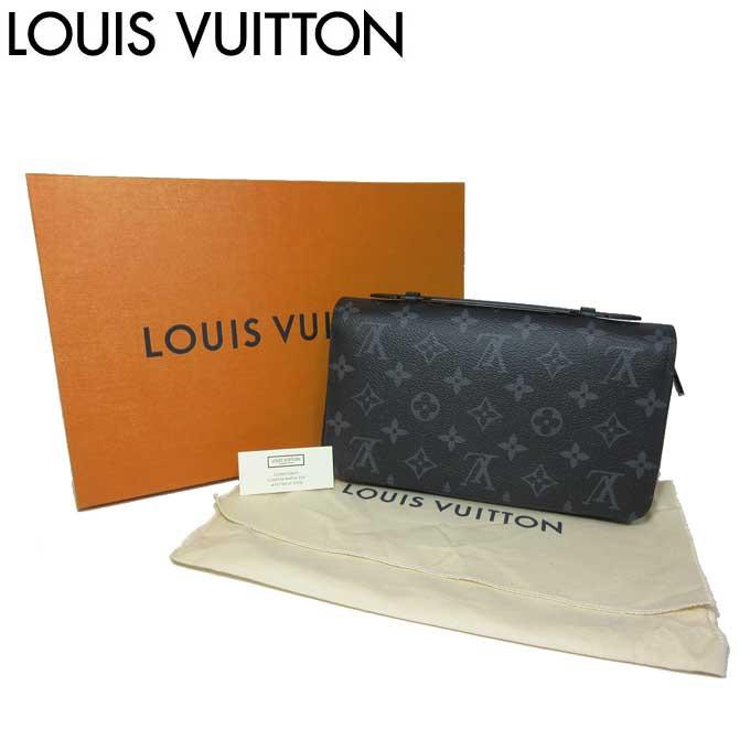 ルイ・ヴィトン LOUIS VUITTON LV 財布 M61698 モノグラム エクリプス ジッピーXL 長財布【0815カード分割】【メンズ】【s-mail03】