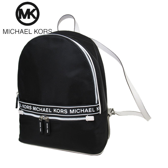 マイケルコース アウトレット Michael Kors ショルダーバッグ 35H9SY9B7C ナイロン バックパック / リュック KENLY / LG BACKPACK / BLACK(ブラック)【カード分割】【レディース】