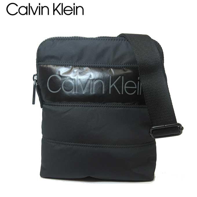 カルバン クライン アウトレット Calvin Klein ショルダーバッグ K50K504784-BDS ポリエステル PUFFER フラット クロスオーバー / ショルダー BLACK【メンズ】【レディース】 【カード分割】