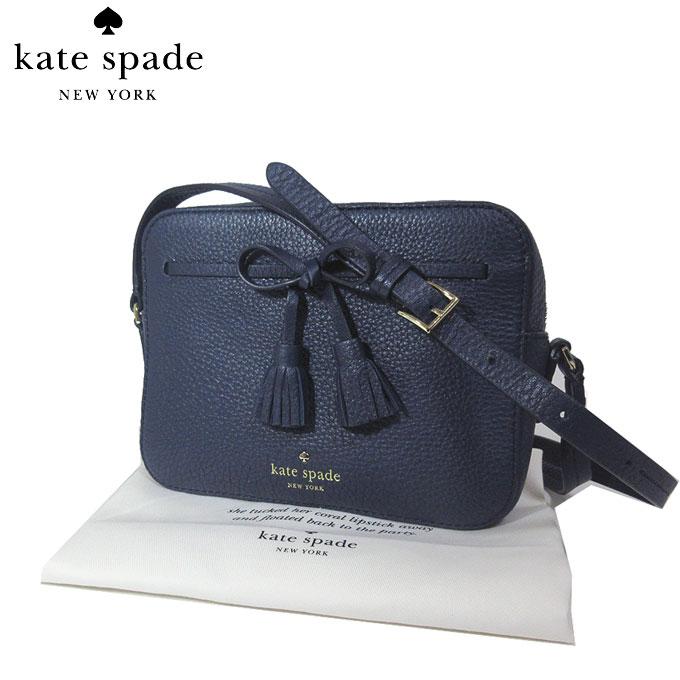 ケイト・スペード ブティック kate spade ショルダーバッグ PXRU9166 タッセル リボン レザー 斜め掛け hayes street hb / arla / blazer blue(429):ブルー系【カード分割】【レディース】