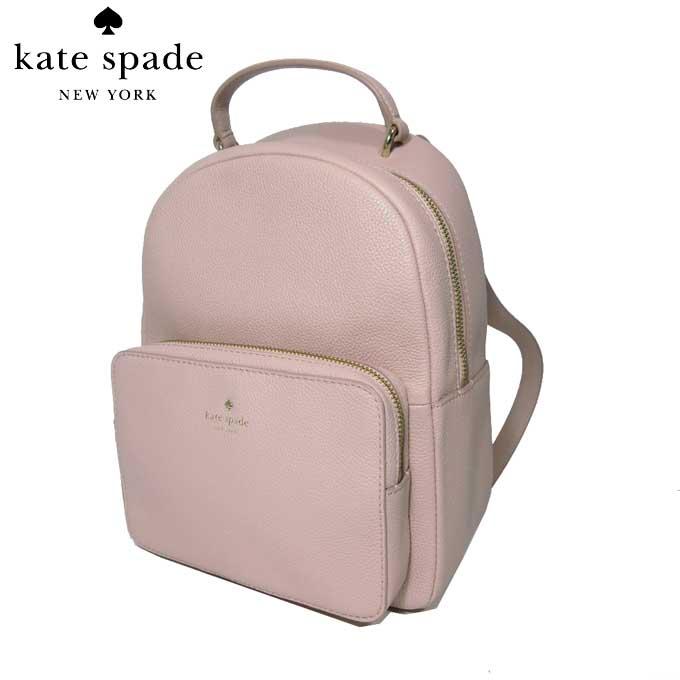 ケイト・スペード アウトレット kate spade ショルダーバッグ WKRU5498-265 レザー リュック mini nicole / larchmont avenue / warmvellum(265):ピンク系【カード分割】【レディース】