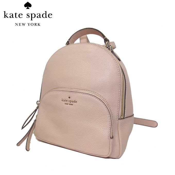 ケイト・スペード アウトレット kate spade ショルダーバッグ WKRU5946-265 レザー ミディアム バックパック / リュック medium backpack / jackson / warmvellum(265):ピンク系【カード分割】【レディース】
