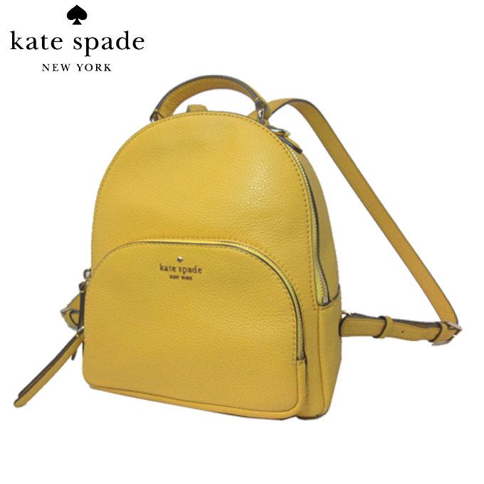 ケイト・スペード アウトレット kate spade ショルダーバッグ WKRU5946-703 レザー ミディアム バックパック / リュック medium backpack / jackson / vbrntcanr(703):イエロー系【カード分割】【レディース】