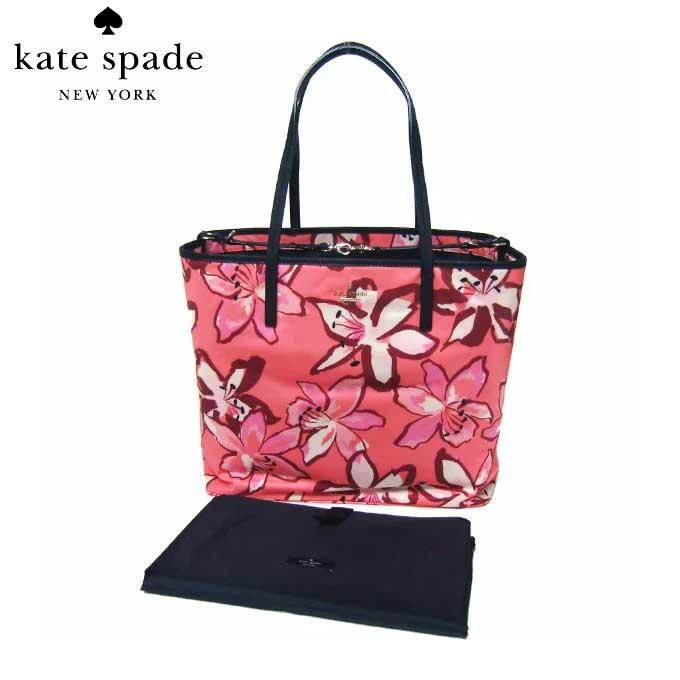 ケイト・スペード ブティック kate spade トートバッグ PXRU6728-977 harmony / baby bag classic nylon ナイロン マザーズバッグ フラワー柄 (977)surcormult:ピンク系マルチ【レディース】