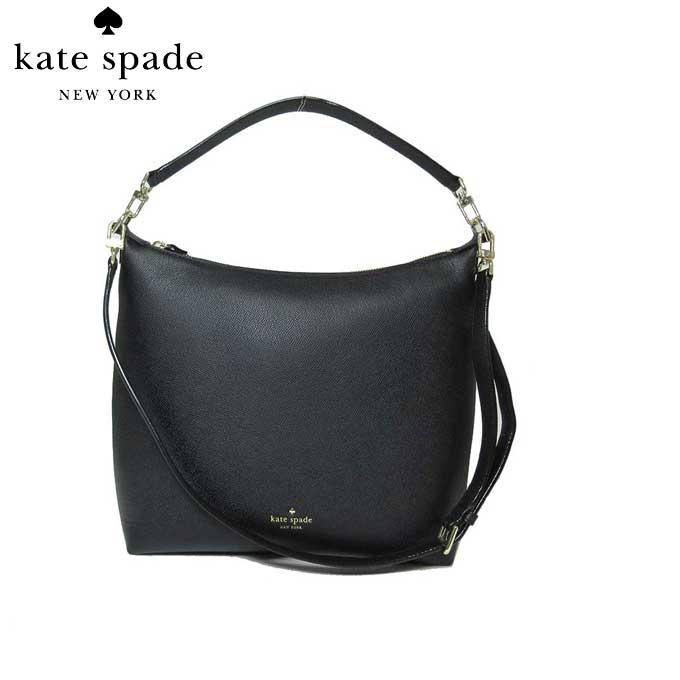 ケイト・スペード ブティック kate spade トートバッグ PXRU7774 レザー kaia / greene streef 2WAY ショルダー トート (001)black:ブラック【カード分割】【レディース】