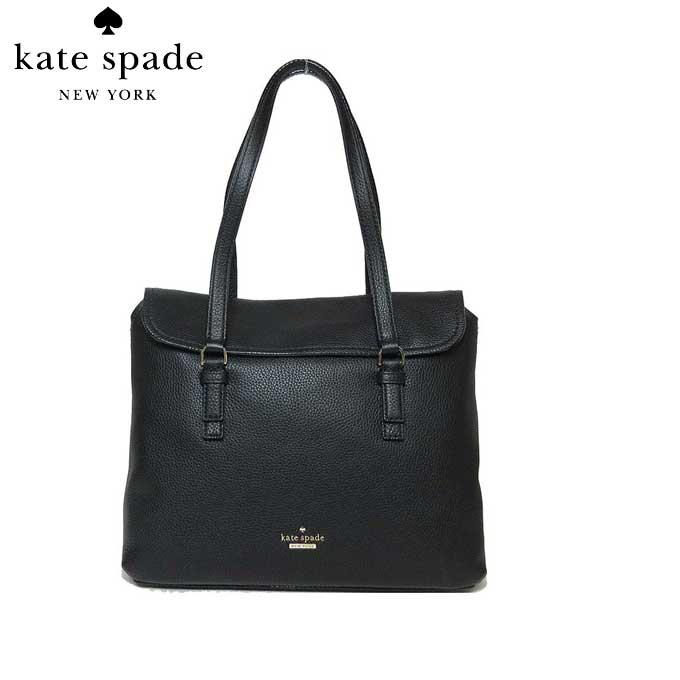 ケイト・スペード ブティック kate spade トートバッグ PXRU8300 レザー arietta / jackson street トート (001)black:ブラック【カード分割】【レディース】