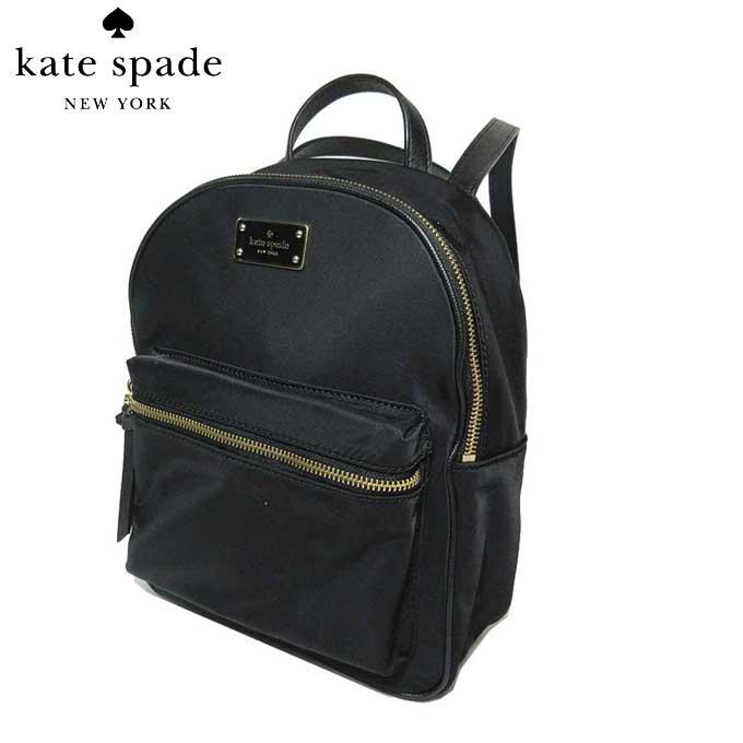 ケイト・スペード アウトレット kate spade ショルダーバッグ WKRU4717 small bra / wilson road ナイロン リュックサック (001)black:ブラック【カード分割】【レディース】