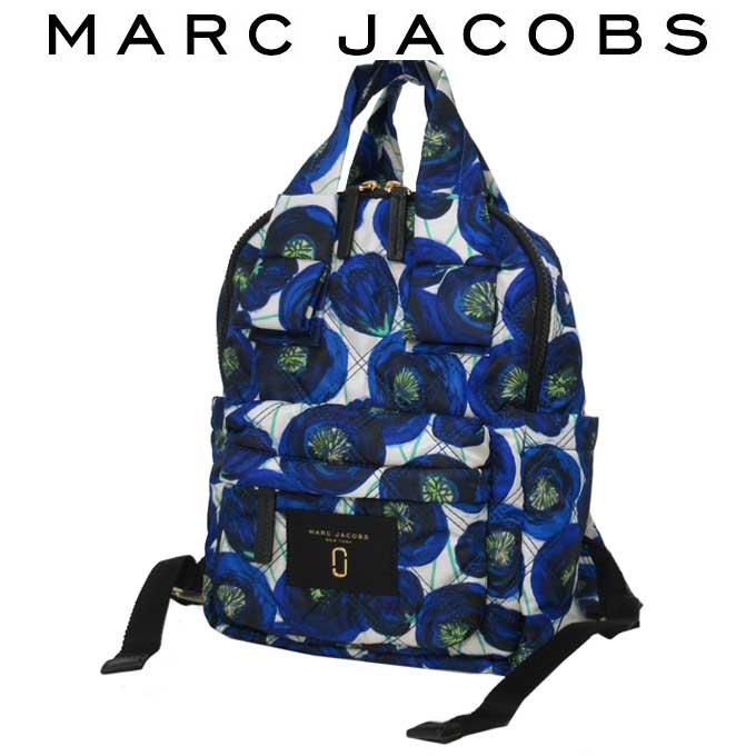 新品 マークジェイコブス MARC JACOBS 人気ブランド 即納 新着 リュック レディース 卓越 401 M0013284 バックパック 花柄 送料無料 アウトレット ナイロン キルティング調
