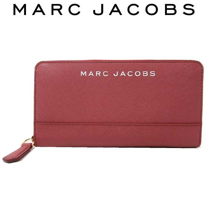 新品 マークジェイコブス ディスカウント MARC 低価格化 JACOBS 人気ブランド 即納 長財布 レディース アウトレット ギフト 611 M0015160 送料無料 ラウンドファスナー ロゴ