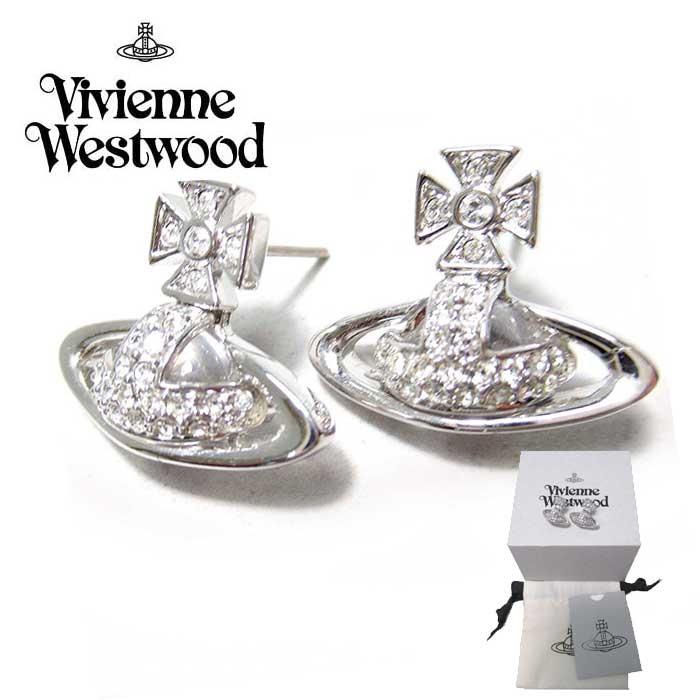 新品 ヴィヴィアン Vivienne Westwood 人気ブランド 即納 4年保証 ヴィヴィアンウエストウッド ピアス オーブ ファッション通販 送料無料 725768B アクセサリー レディース ラインストーン イヤリング ギフト
