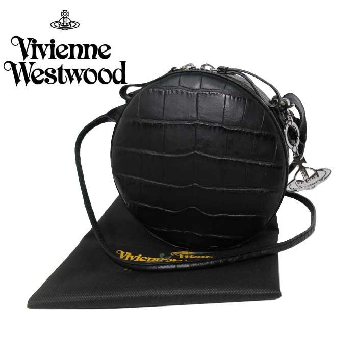 新品 ヴィヴィアン Vivienne Westwood 人気ブランド 即納 ヴィヴィアンウエストウッド ショルダーバッグ レディース 斜め掛け 送料無料 有名な 流行 43040003 クロコ調 アングロマニア 40771 N201 JOHANNA