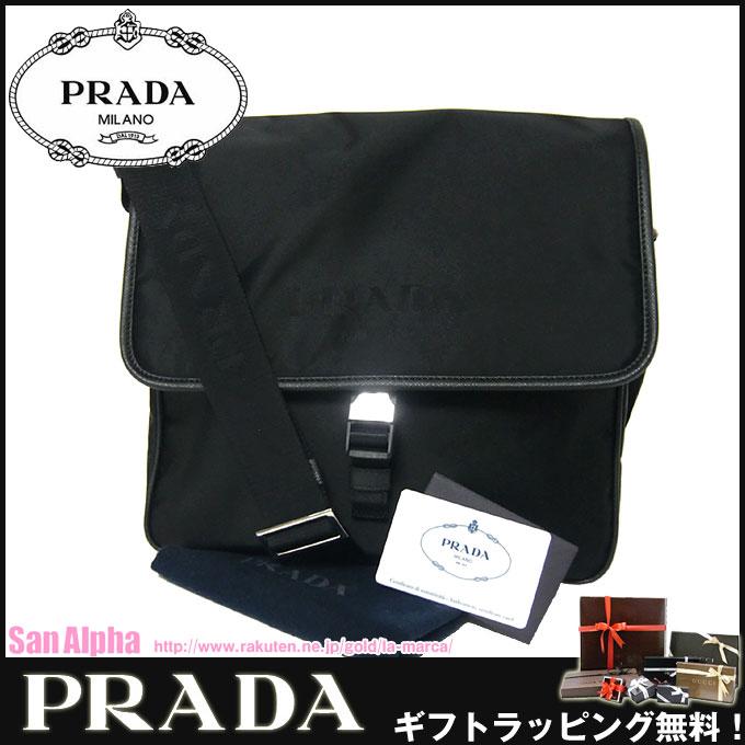 ★ 品牌袋赠品! ★ 普拉达 (prada) 插座普拉达挎包 2VD951 尼龙对角在妇女的 TSSUTO + 菲 / NERO