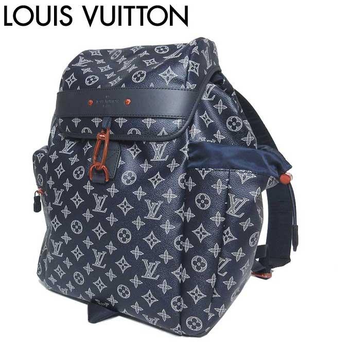 ●注目!!● ルイ・ヴィトン LOUIS VUITTON LV ショルダーバッグ M43693 モノグラム インク キャンバス / アップサイドダウン ディスカバリー・バックパック / リュックサック 【リュック】【メンズ】