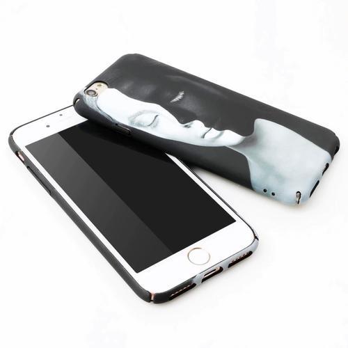 9e074cb268 【メール便送料無料】iphoneケースartモノトーン芸術的おもしろい面白いfunnyカバー