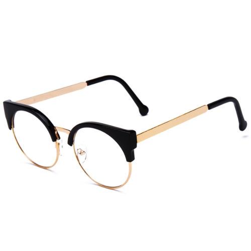 33238fc44e7 la-robe-noire  Stylish glasses unisex sport glasses Date glasses ...