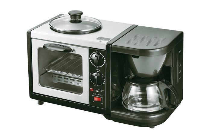 【送料無料】モーニングトリオ (MT-3) 朝食 コーヒー オーブントースター 目玉焼き