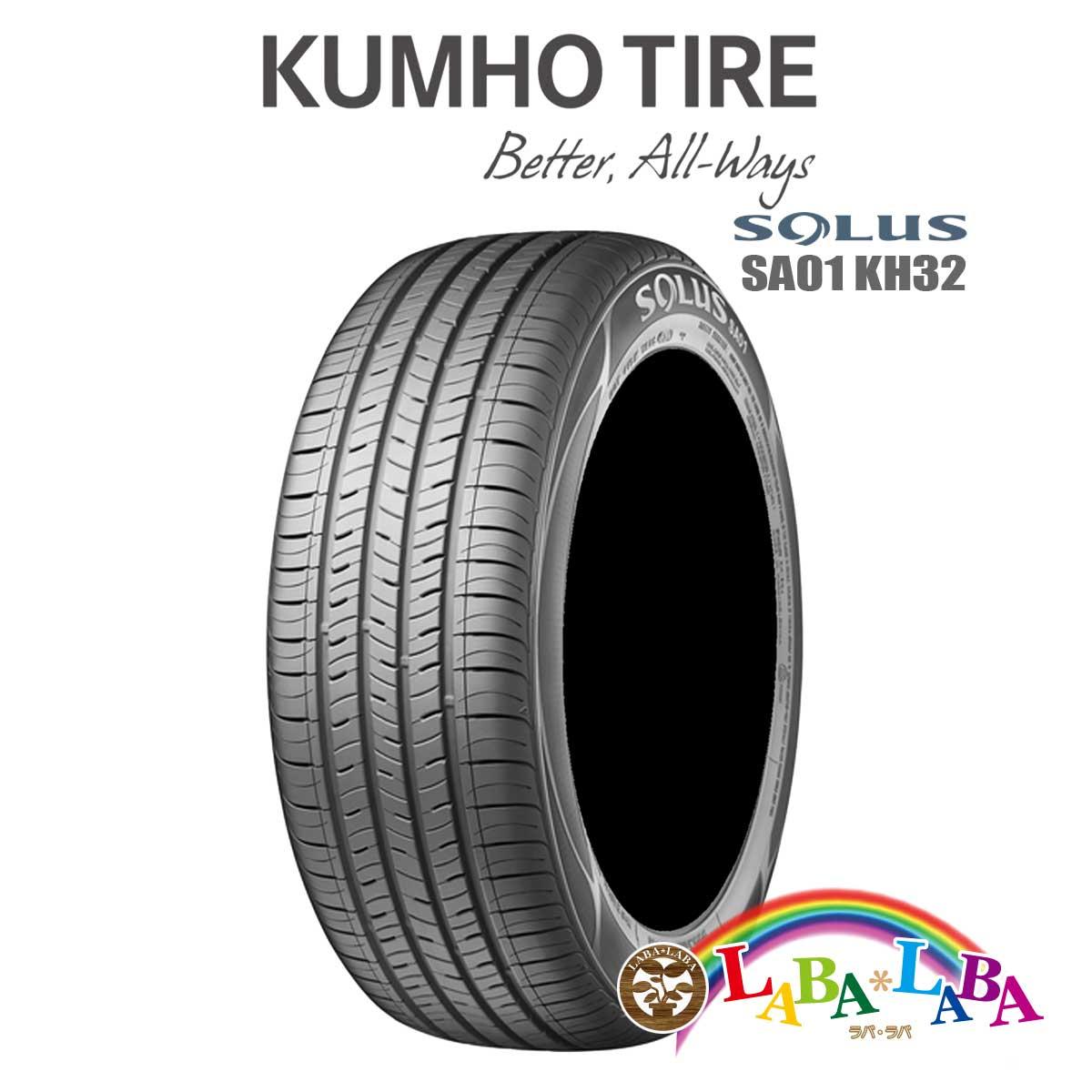 KUMHO クムホ SOLUS ソルウス KH32 225/45R17 91V サマータイヤ 4本セット 2017年製 ●